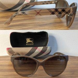 Burberry Sunglasses Brown Cat Eye